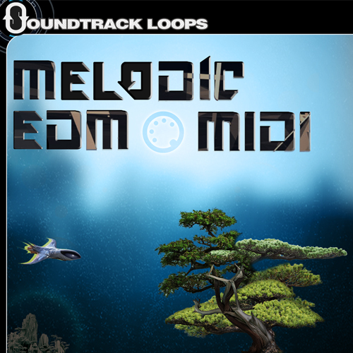 Product picture Melodic EDM Midi Files and Apple Looped aiff