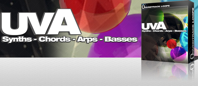 UVA – SYNTHS, CHORDS, ARPS & BASS LOOPS