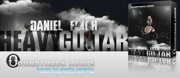 Pay for Daniel Finch Heavy Guitar Apple Loops