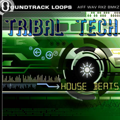 tribal tech, tech house, tribal house, drum beats, funky beats, drum loops, beat loops $6.50 - $15.00 USD