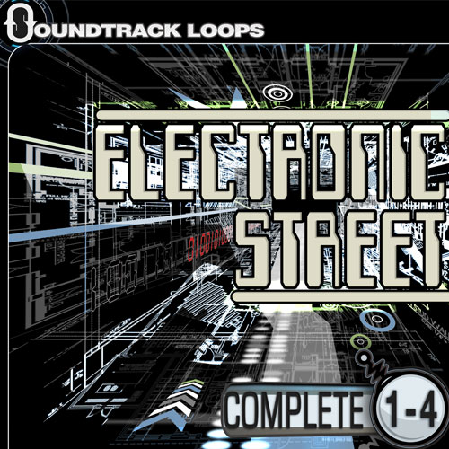 Electronic Street, Chillout - Hip hop and trip Hop Loops