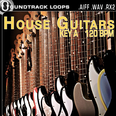 Free house guitar loops for Acid house bpm