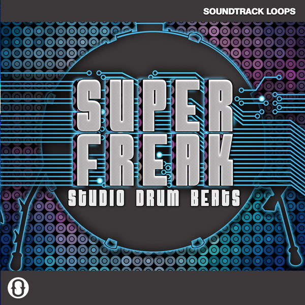 Super Freak Studio Drum Beats