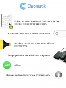 Chromatik - Sheet music collaboration app