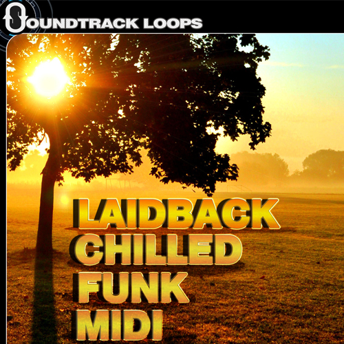 Laidback Chilled Funk MIDI loops, One-shots and RX2