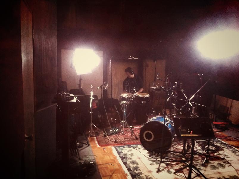 Drummer Recording Session Brazilian Lounge