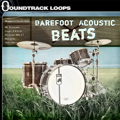 Barefoot Acoustic Beats - Drums mapped