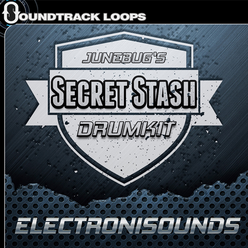 Secret Stash Drum Kits - Drum One-Shots and Loops