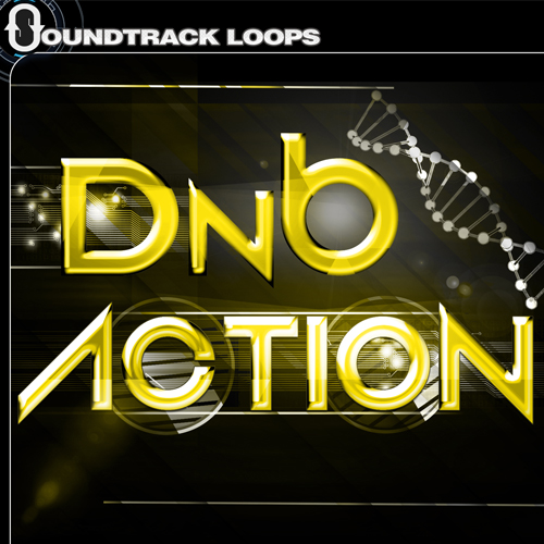 DnB Action - Drum and Bass Loops and One-Shots