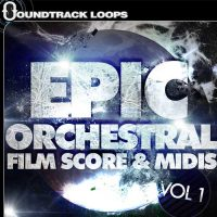 Epic Orchestral Film Score and MIDIs