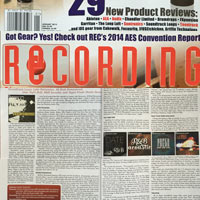 Soundtrack Loops Featured in Recording Mag - January 1st 2015 Edition
