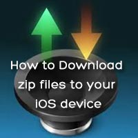 How to Download Zip Files to Your iOS Device