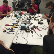 Synthrotech Soldering Class - Denver Synth Meet 2015