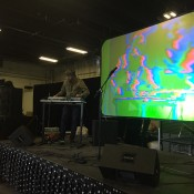 Greyscale - Video Glitches and Modular Set up - Denver Synth Meet 2015