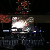 Mark Mosher Live Visuals , Tenorion, Audio Cubes and Ableton Push - set at Denver Synth Meet 2015