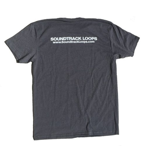 Soundtrack Loops Charcoal Gray Mens - Back