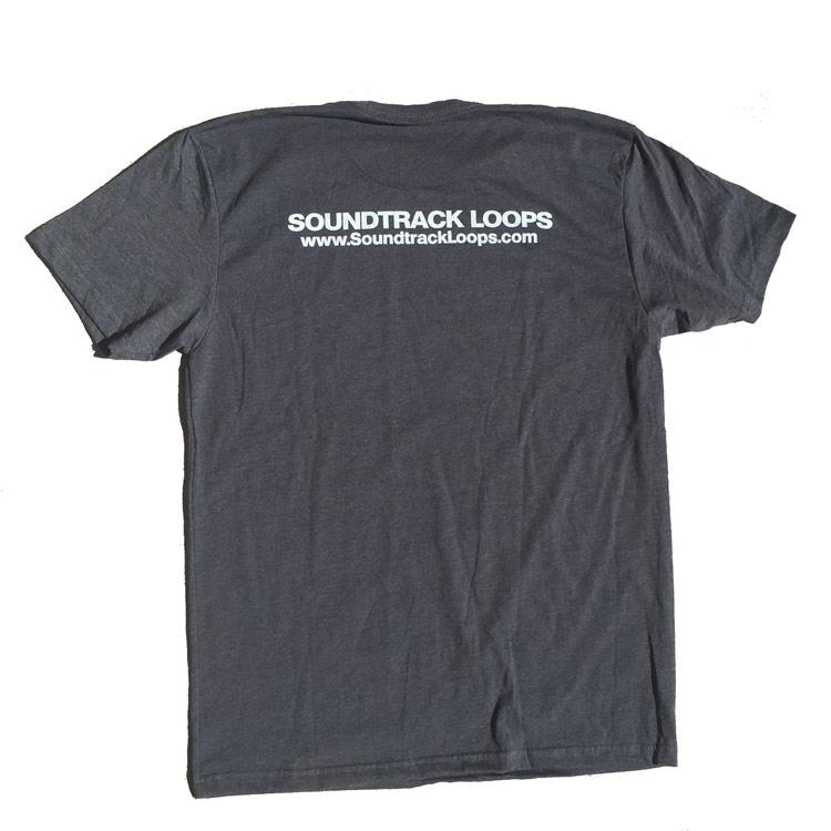 Soundtrack Loops Charcoal Gray Mens - Back