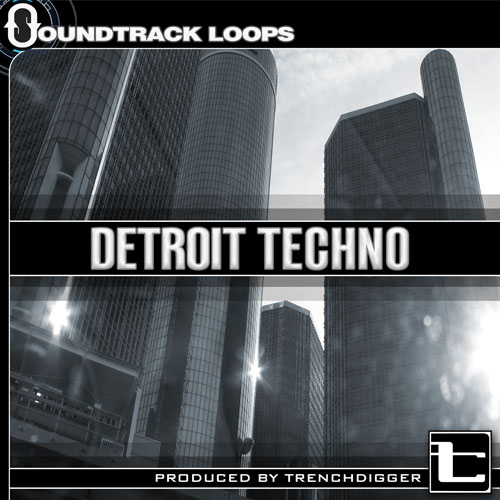 Detroit Techno Sound Pack - Drums, Loops & One-shots