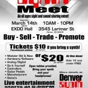 Denver Synth Meet - Flyer 1