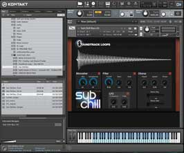Sub Chill Bass Synths for Native Instruments Kontakt