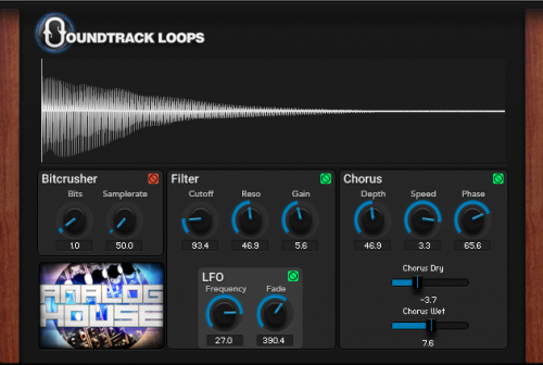 9 Custom Kontakt Analog Bass with bit crusher and filters