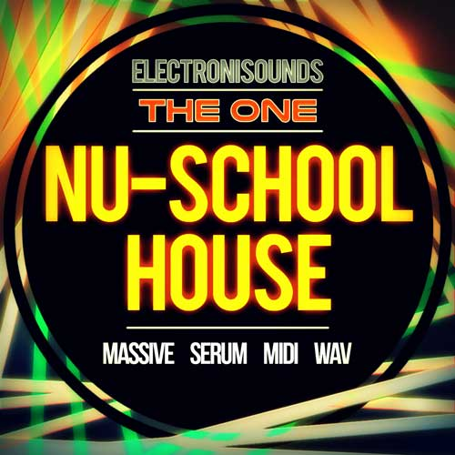 Nu-School House - Serum, Massive, MIDI, Loops & One-Shots