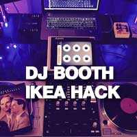 How to - DJ Booth IKEA Hack