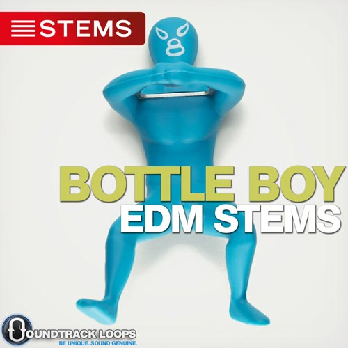 Bottle Boy EDM DJ Stems. Artist Soundtrack Loops, Drums, Mixed, Piano Synth, SFX, & Synthesizer. Download EDM DJ Stems from Soundtrack Loops
