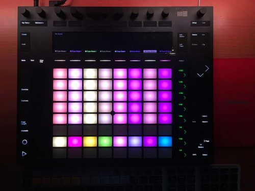 Dope Beats Ableton Live Push Project