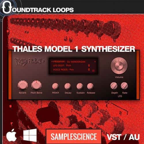 Thales Model I – VST / AU Rompler Synthesizer