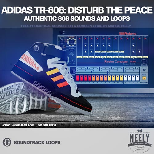 Adidas TR-808: Disturb The Peace - Free 808 Sound and Loops for all DAWS