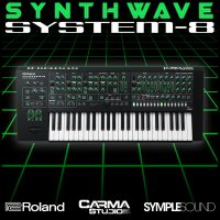 Download Synthwave for Roland System-8 royalty free presets