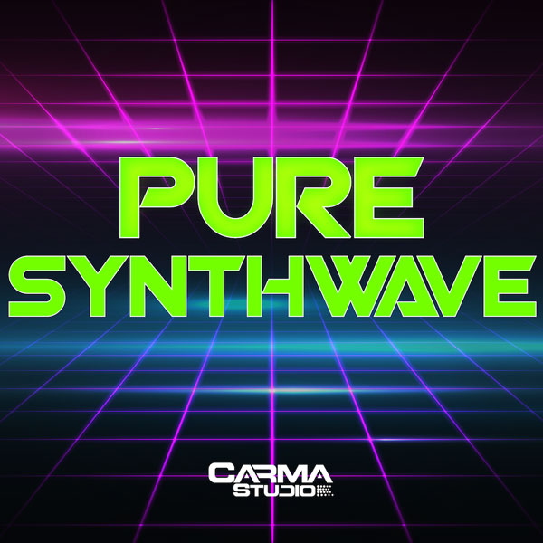 Download Synthwave Loops and Midi tracks by Carma Studios at