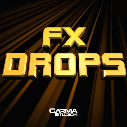 Download FX Drops Bassline royalty free loops by Carma Studio
