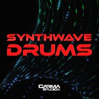 Download Synthwave Drums royalty free loops by Carma Studio
