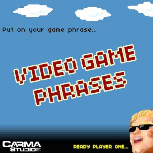 Download Video Game Phrases royalty free loops by Carma Studio