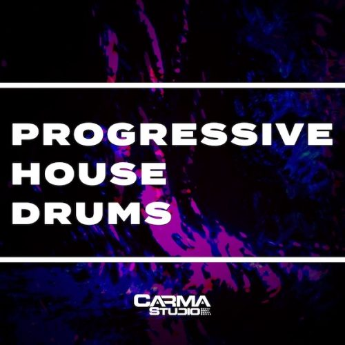 Download Progressive House Drums royalty free loops by Carma Studio