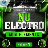 Download Royalty Free Nu Electro Midi Elements Vol.1 by Tunecraft