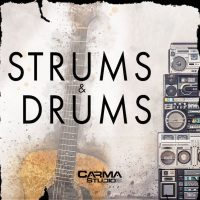 Download Royalty Free Hip Hop Strums & Drums Loops by Carma Studio