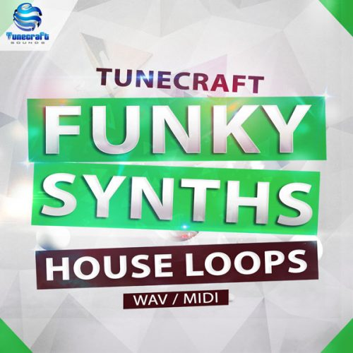 Download Royalty Free Funky Synth House Loops by Tunecraft